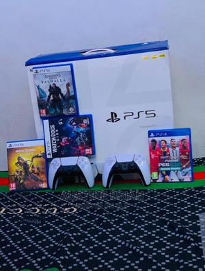 Ps 5 With Two Pad And 4 Games | Video Game Consoles for sale in Rivers State, Port-Harcourt