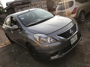 Nissan Almera 2013 Gray   Cars for sale in Lagos State, Abule Egba