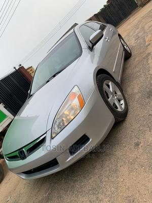 Honda Accord 2007 2.0 Comfort Automatic Silver   Cars for sale in Lagos State, Ikorodu