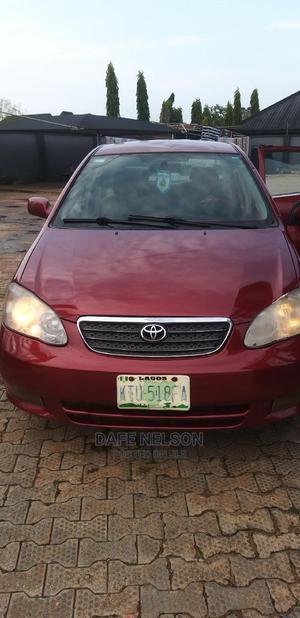 Toyota Corolla 2003 Sedan Red | Cars for sale in Edo State, Benin City
