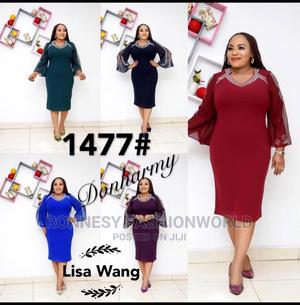 New Classic Female Quality Fitted Gown   Clothing for sale in Lagos State, Ikeja