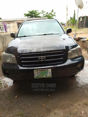 Toyota Highlander 2005 V6 4x4 Black   Cars for sale in Abuja (FCT) State, Kubwa