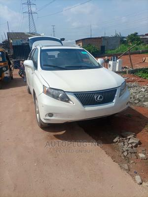 Lexus RX 2010 350 White | Cars for sale in Lagos State, Ejigbo