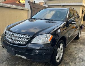 Mercedes-Benz M Class 2008 ML 350 4Matic Black   Cars for sale in Lagos State, Surulere