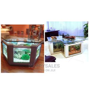 Center Table Aquarium Well Decorated | Pet's Accessories for sale in Lagos State, Surulere