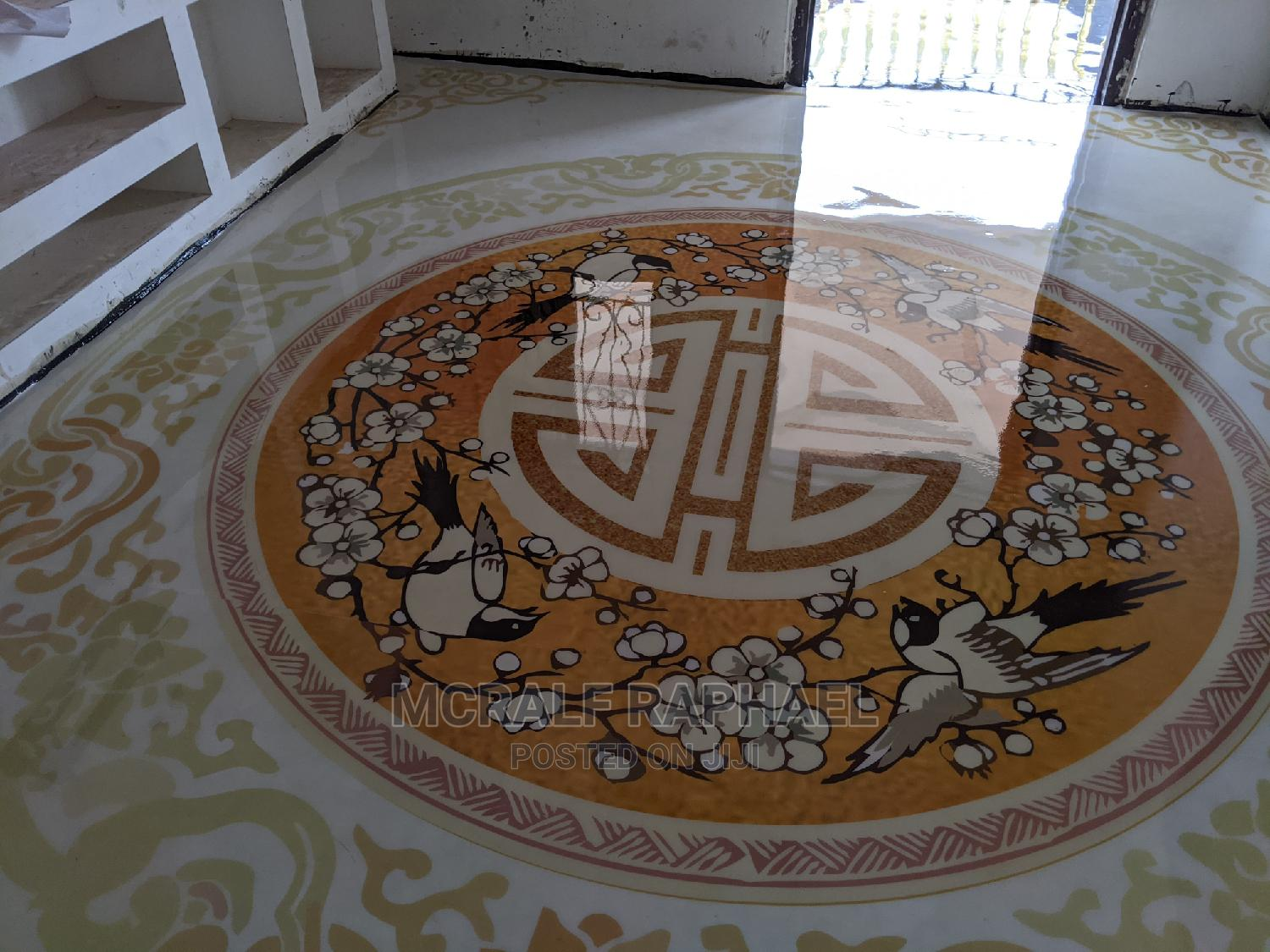 Beautiful 3D Epoxy Installation for Floors and Walls
