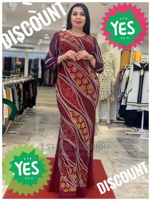 Fashion Ladies Quality Turkey Long Dress | Clothing for sale in Lagos State, Ikeja