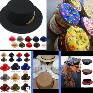 Beach Hat, Fedora Hat, Beaded Berets and Leather Beret, | Clothing Accessories for sale in Lagos State, Alimosho