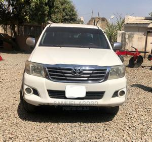 Toyota Hilux 2011 2.5 D-4d 4X4 SRX White | Cars for sale in Kano State, Kano Municipal