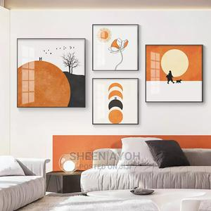 Modern Aesthetic Geometry Art Painting Wall Art   Home Accessories for sale in Lagos State, Ikeja