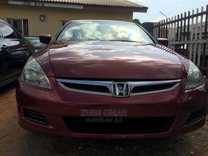 Honda Accord 2007 Red | Cars for sale in Kaduna State, Kaduna / Kaduna State