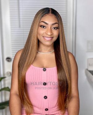 "28"" 100% Human Hair Wig Bone Straight Lookalike | Hair Beauty for sale in Abuja (FCT) State, Gwarinpa"
