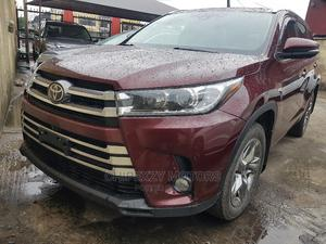 Toyota Highlander 2017 Red | Cars for sale in Lagos State, Amuwo-Odofin