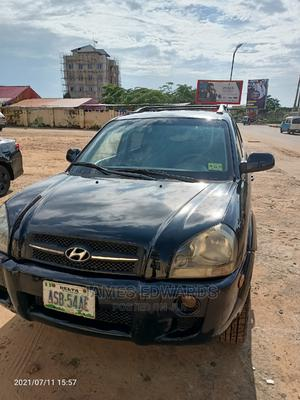 Hyundai Tucson 2005 GLS 4x4 Black | Cars for sale in Delta State, Oshimili South