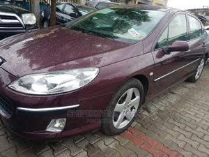 Peugeot 407 2005 2.0 Esplanade Red | Cars for sale in Lagos State, Amuwo-Odofin