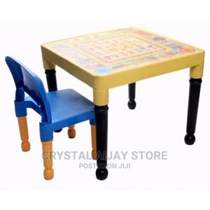 Kids Table and Chair for Reading and Dining - 1 Chair   Children's Furniture for sale in Lagos State, Ogba