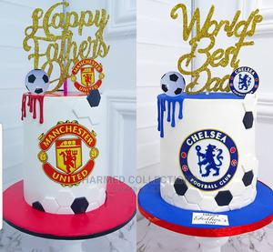 Dad Cake Football Cake   Party, Catering & Event Services for sale in Lagos State, Agboyi/Ketu