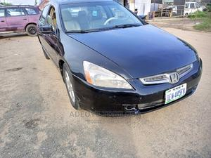 Honda Accord 2004 Automatic Black | Cars for sale in Lagos State, Isolo
