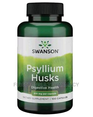 Swanson Psyllium Husk 610mg X 100 | Vitamins & Supplements for sale in Lagos State, Surulere