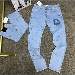 Dior Jeans Designer Quality Original   Clothing for sale in Lagos State, Surulere