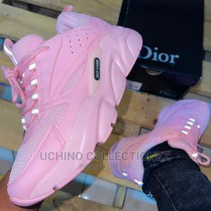 *B22 Dior Sneakers Pink Pink *   Shoes for sale in Lagos State, Lagos Island (Eko)