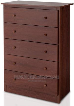5 Drawer Chest, Storage Dresser, Wooden Clothes Organisers   Children's Furniture for sale in Lagos State, Ajah