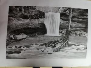 Original Landscape Drawing | Arts & Crafts for sale in Rivers State, Port-Harcourt