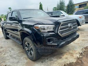 Toyota Tacoma 2016 4dr Double Cab Black | Cars for sale in Lagos State, Ikeja