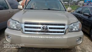 Toyota Highlander 2006 V6 4x4 Gold | Cars for sale in Rivers State, Port-Harcourt