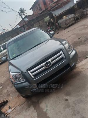 Honda Pilot 2007 EX-L 4x4 (3.5L 6cyl 5A) Gray | Cars for sale in Lagos State, Maryland