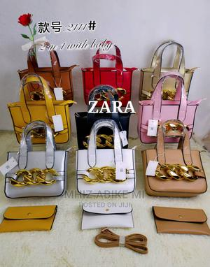Quality Classic Gold Designs Zara Bag | Bags for sale in Lagos State, Alimosho