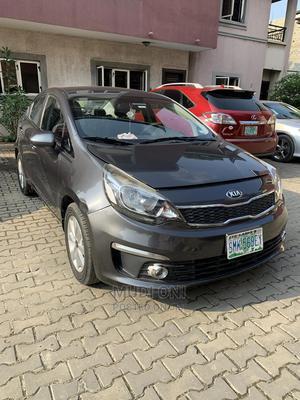Kia Rio 2018 EX Sedan Gray | Cars for sale in Lagos State, Ikoyi