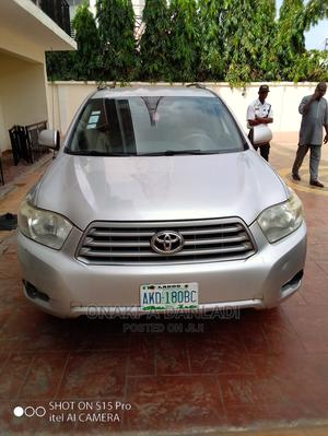 Toyota Highlander 2008 4x4 Silver   Cars for sale in Lagos State, Ikoyi