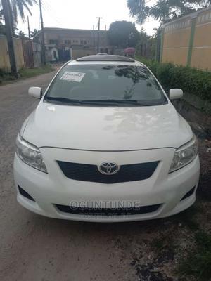 Toyota Corolla 2009 1.8 Advanced White | Cars for sale in Lagos State, Kosofe