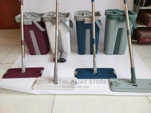 Dual Self Cleaning Drying Mop Bucket Floor Mop Wet Dry | Home Accessories for sale in Lagos State, Ogba