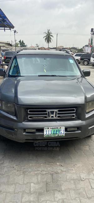 Honda Ridgeline 2006 Gray   Cars for sale in Lagos State, Ibeju