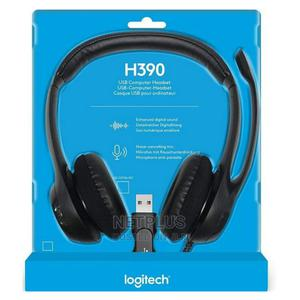Logitec Headset H390   Headphones for sale in Abuja (FCT) State, Wuse