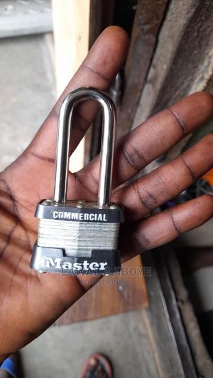 Master Lock Wide Laminated Steel Warded Padlock Outdoor   Safetywear & Equipment for sale in Lagos State, Lagos Island (Eko)