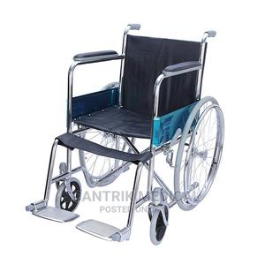 Manual Foldable Wheelchair   Medical Supplies & Equipment for sale in Abuja (FCT) State, Wuse