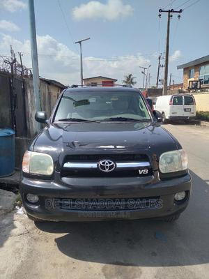 Toyota Sequoia 2006 Black   Cars for sale in Lagos State, Surulere