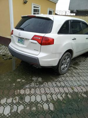 Acura MDX 2009 SUV 4dr AWD (3.7 6cyl 5A) White | Cars for sale in Lagos State, Ajah