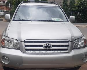 Toyota Highlander 2007 4x4 Silver | Cars for sale in Lagos State, Ikeja