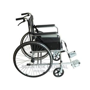 Factory Direct Manual Folding Wheel Chair | Medical Supplies & Equipment for sale in Rivers State, Etche