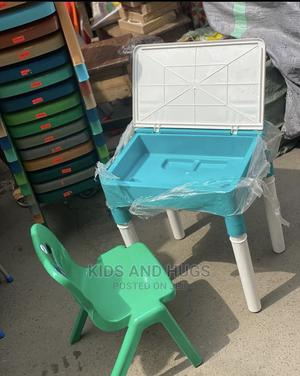 Plastic Locker Table and Chair   Children's Furniture for sale in Lagos State, Lagos Island (Eko)