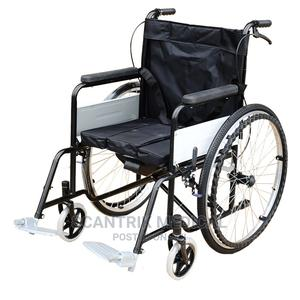 Lightweight Manual Wheelchair for Disabled | Medical Supplies & Equipment for sale in Abia State, Umuahia