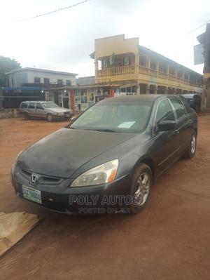 Honda Accord 2004 Sedan EX Gray | Cars for sale in Lagos State, Alimosho