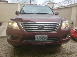 Lexus LX 2009 570 Red   Cars for sale in Lagos State, Ojodu