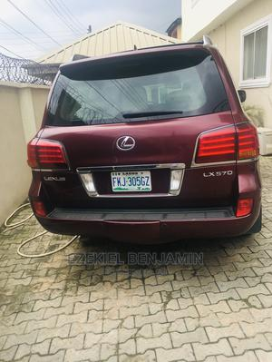 Lexus LX 2009 570 Red | Cars for sale in Lagos State, Ojodu