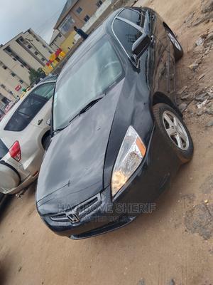Honda Accord 2005 Sedan EX Automatic Black | Cars for sale in Lagos State, Abule Egba