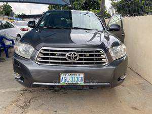 Toyota Highlander 2009 Limited 4x4 Gray | Cars for sale in Lagos State, Ikeja